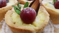 Kirsikka-vanilja juustokakku (sesonki)