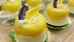 Mango-valkosuklaaleivos
